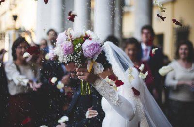 ช่อดอกไม้ในงานแต่ง แห่งรักแท้ที่บริสุทธิ์