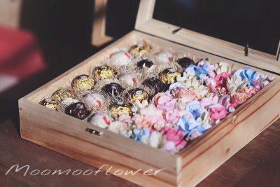 กล่องดอกไม้เฟอเรโร่