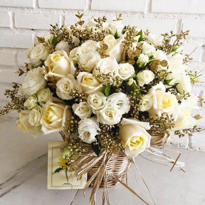 แจกันดอกไม้สด
