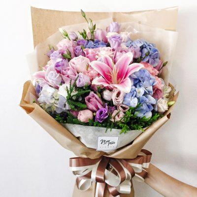 ช่อดอกไม้ให้แม่