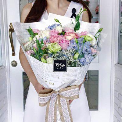 ทำไมต้องให้ช่อดอกไม้ผู้หญิง