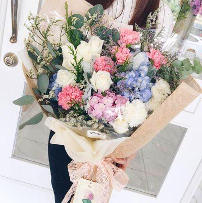 เก๋เว่อร์ กับช่อดอกไม้พาสเทลสดใส ดีไซน์น่ารัก